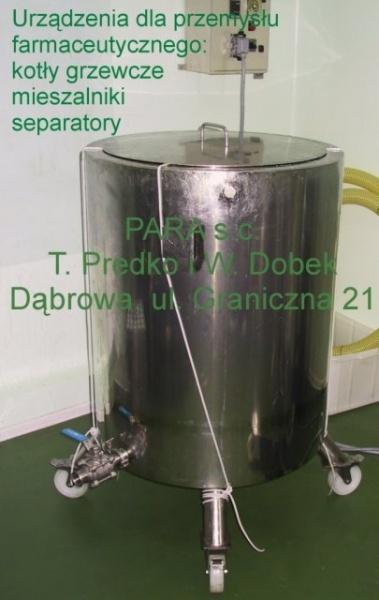 aakociol grzewczyjpg - (Polski) Maszyny dla przemysłu farmaceutycznego